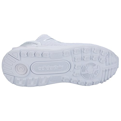 adidas Originals - Zapatillas de Tela para niño, color blanco, talla 34.5
