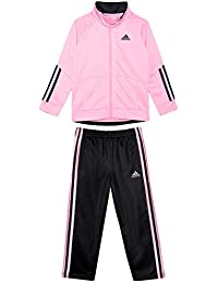 Baby Girls' Tricot Zip Jacket and Pant Set