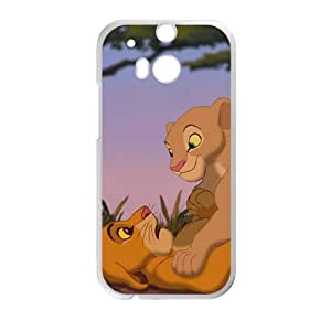 DAZHAHUI The Lion King Cell Phone Case for HTC One M8