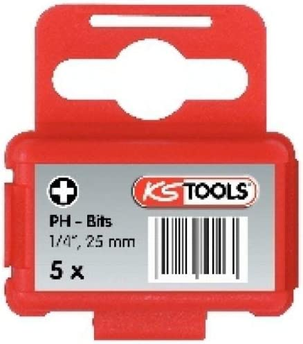 KS Tools 911.2204 Embout de vissage KS PHILLIPS N/°2 unit/é L.25 mm