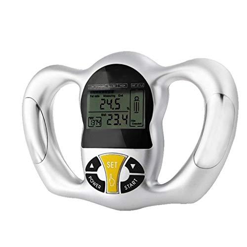 CMrtew Digital Scale LCD Body Fat Meter Health Monitor Slim Fat Analyzer Measure Fat Scale BMI Mass Index Handheld Calorie Hand Meter (Body Fat Meter)