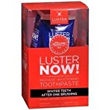 Luster NOW! Instant Whitening Toothpaste, 3 Pack by LUSTER PREMIUM WHITE