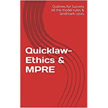 Quicklaw- Ethics & MPRE