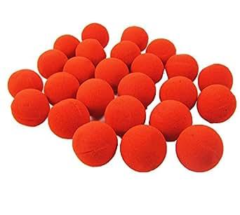 72 Red Foam Clown Noses