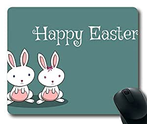 Easter Bunnies Personlized Masterpiece Limited Design Oblong Mouse Pad by Cases & Mousepads