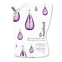 Gel Hand Wash Refill Pouch, French Lavender, 34 oz