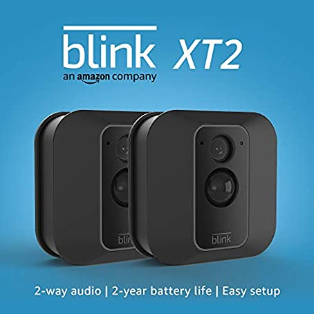 Blink Smart Security Camera 2-way audio Indoor Outdoor - 2 camera kit