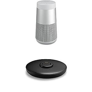 Bose SoundLink Revolve Enceinte Bluetooth Argent + Socle de chargement 8