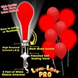 Lumi - Loons Balloon Lights Red Balloons White Lights - 10 Pack