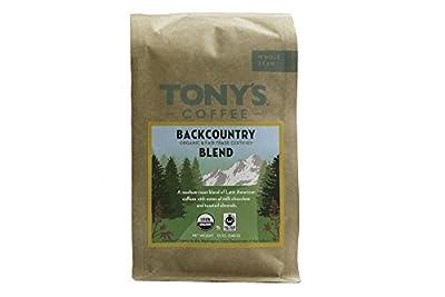 Tony's Coffee Backcountry Blend Whole Bean, 12 oz