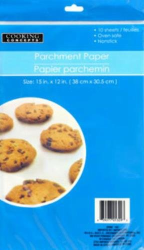 Sheets Cooking Concepts Parchment Nonstick