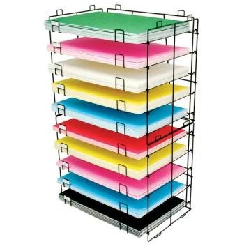Bazic Products 20050 22 in. X 30 in. 10-Slots Foam-Poster Board Display Rack