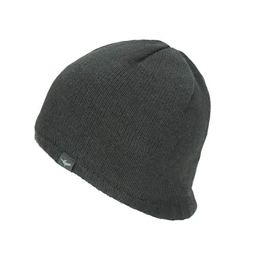 SEALSKINZ Unisex Waterproof Cold Weather Beanie, Black, Large/X-Large