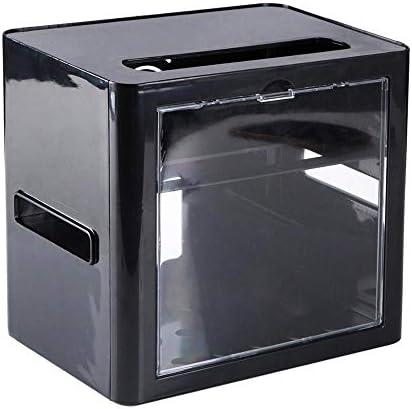 RUIXIANG Kabellose Router Aufbewahrungsbox Kabel Strom Stecker Draht Organizer Aufbewahrungsbox Regal Rack Schutz Shell Home Office Schwarz