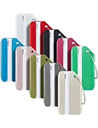 Luggage Tags & Bag Tags Stainless Steel Aluminum Various Colors (Mixed Colors 10 pcs Set)