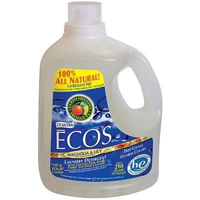 Earth Friendly Products ECOS Liquid Laundry Detergent Magnolia & Lily 2-pack 210 oz. Each