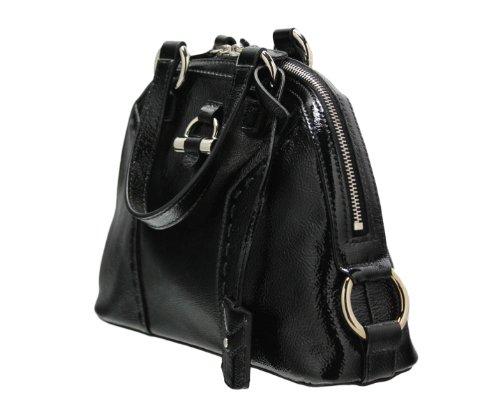 Yves Saint Laurent Mini Muse Black Patent Handbag