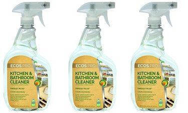 ECOS PRO PL9746/6 All-Purpose Kitchen-Bathroom Cleaner, Parsley Plus (Pack of 6) (3-(Pack of 6)) by ECOS PRO