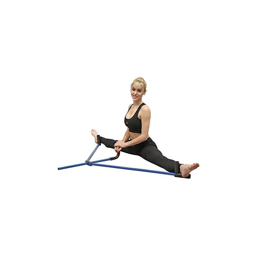 Tiger Claw Steel Leg Stretcher Blue