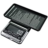 American Weigh Chrome Digital Pocket Scale, 200g by 0.01gm PackageQuantity: 1 Style: Chrome/Black, Model:CHROME-201, Office Accessories & Supply Shop