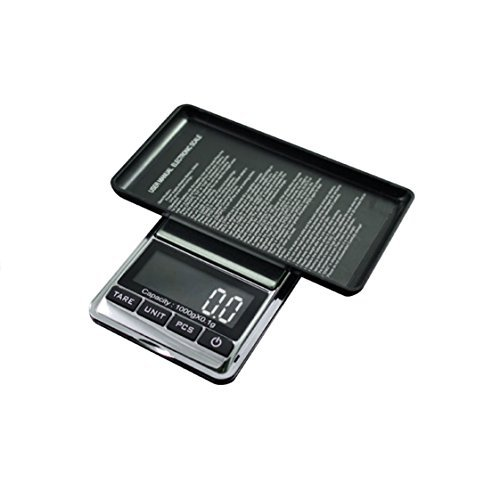American Weigh Chrome Digital Pocket Scale, 200g by 0.01gm Model: CHROME-201 Office Supply Store