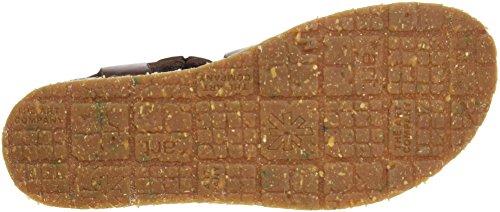 Brown 0587 Marrón Vachetta Mujer mykonos Art Con Punta Mojave Para brown Brown Abierta Sandalias PwdnxOqZ
