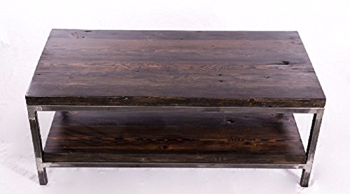 Reclaimed Wood Coffee Table: Bare Design