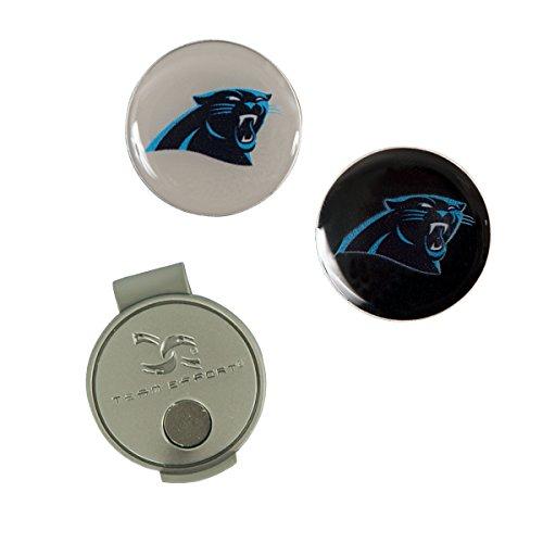 Team Effort NFL Carolina Panthers Hat Clip & 2 Ball Markers