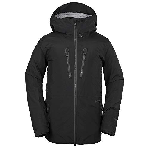 (Volcom Men's Thermal Defense System Infared Gore-Tex Snow Jacket, Black Small)