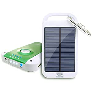 ReVIVE Solar ReStore XL 4000mAh Solar Charger Power Bank & USB Rechargeable External Battery Travel Pack w/ Universal USB Charging Port & High-Efficiency Solar Panel for MP3 Media Players, Smartphones , E-readers , iPad and More!