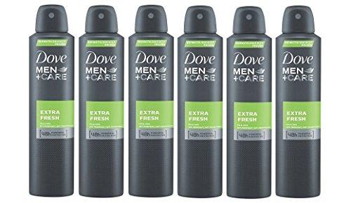 Dove Extra Antiperspirant Deodorant 6 Pack