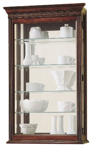 Howard Miller 685-104 Edmonton Curio Cabinet by by Howard Miller