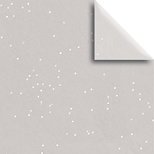 JAM Paper® Design Gift Tissue - Silver Shimmer - 20'' x 30'' - 200 Sheets by JAM Paper