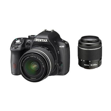 Pentax K50+18-55+50-200WR - Kit de cámara réflex Digital con ...