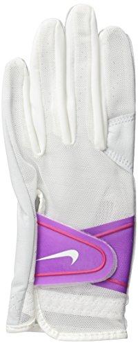Bold Berry (Nike GG0473 158 Women's Summerlite Golf Gloves, Medium, White/Bold Berry/Hot Lava)