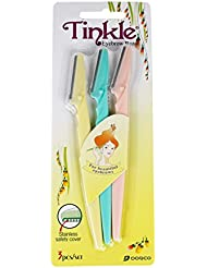 Dorco Tinkle 3 PCS Eyebrow or Face Hair Removal Safety...