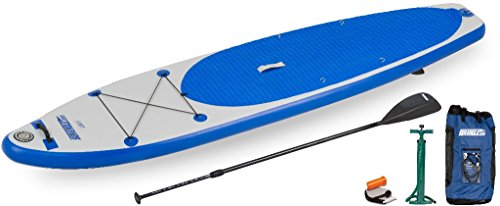 Sea Eagle Inflatable Longboard Stand-up Paddle Board SUP Package