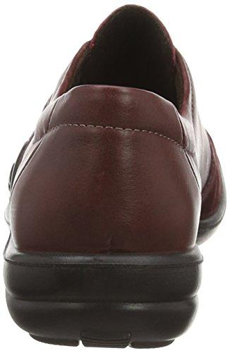 Romika Maddy 05 - zapatilla deportiva de cuero mujer rojo - Rot (wine-sangria 492)