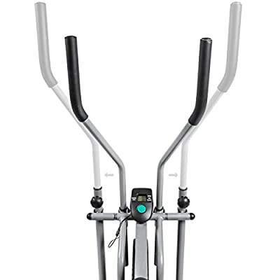 US Fast Ship Elliptical Bike 2IN1 Cross Trainer Exercise Fitness Machine Home Gym Workout