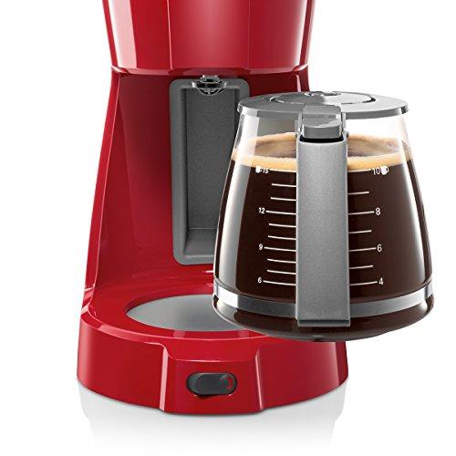 Bosch Cafetera Goteo Tka3a034 Rojo, 1100 W, 59 Cups, plástico: Bosch: Amazon.es: Hogar