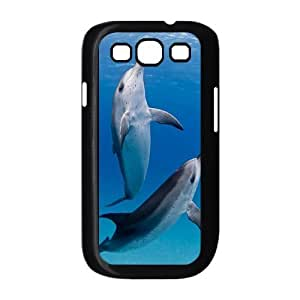 Dolphins ZLB811026 DIY Phone Case for Samsung Galaxy S3 I9300, Samsung Galaxy S3 I9300 Case by supermalls