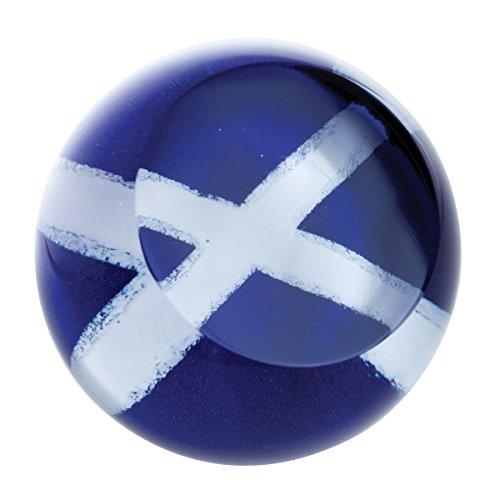 (Caithness Glass Flags Scottish Saltire, Multi)