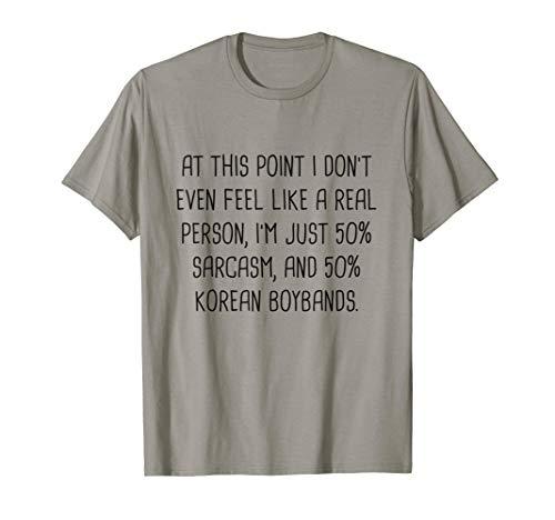K-pop Shirt Korean Fashion Kpop Merchandise Korean Drama T-Shirt