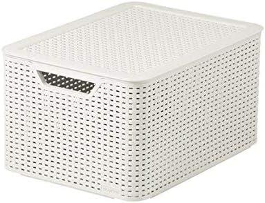 Curver Style, Caja Organizadora, Blanco Vintage, L (30 L ...