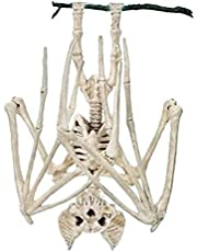 REOVE 1 st verschrikkelijke Halloween vleermuis skelet simulatie vleermuis skelet levensechte vleermuis bot Halloween rekwisieten dier skelet voor Halloween decoratie, vleermuis
