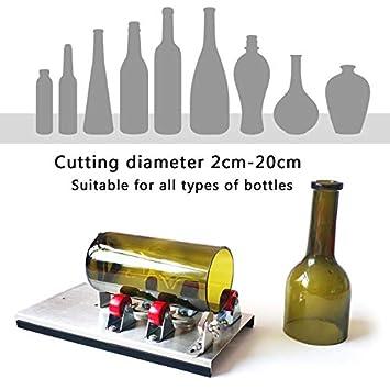DOOLLAND Cortador de Botellas de Vidrio, Kit de máquina de ...