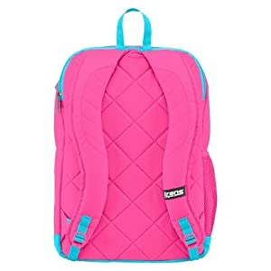 Jansport 37l/2258 Cubic in Flourescent Pink Backpack.