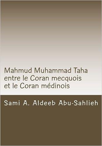 Mahmud Muhammad Taha entre le Coran mecquois et le Coran médinois