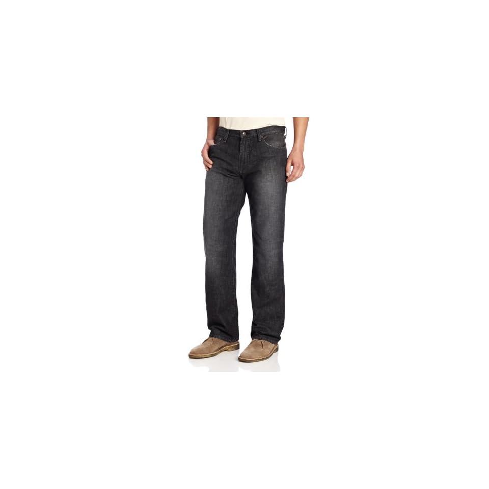 Lucky Brand Mens 361 Vintage Straight Leg Jean in Ol Big Smokey