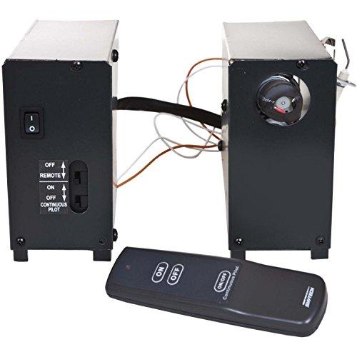 Skytech AFVK-SP-MH/L-SPLIT Manual High/Low Split Spark to Pilot Gas Valve Kit with On/Off/High/Low Remote by SkyTech